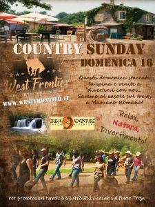 Domenica 16 settembre,Country Sunday!
