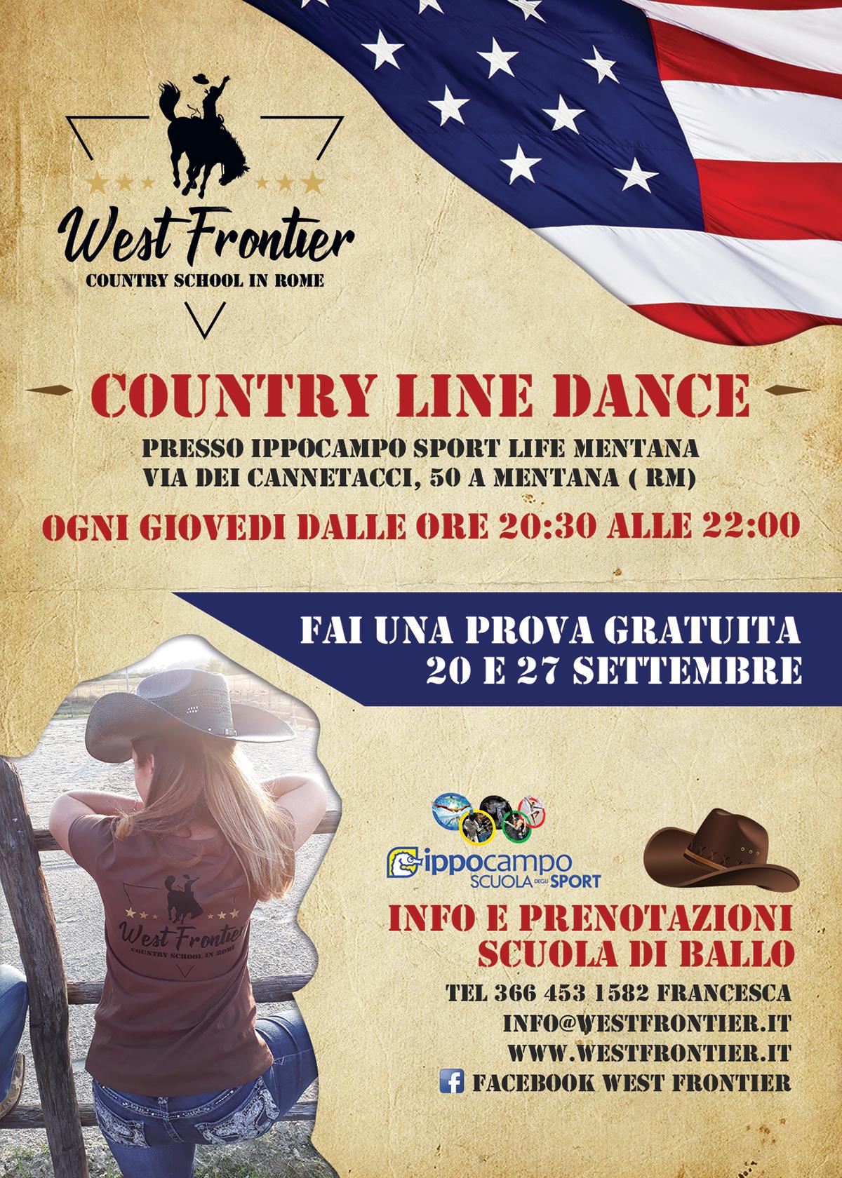 Corso Principianti Country Line Dance