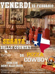 Serata da Pizza Cowboy!