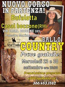 Corso per Principianti Country Dance- Bufalotta