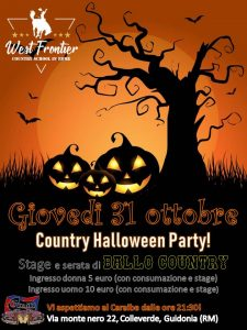 Country Halloween Party!