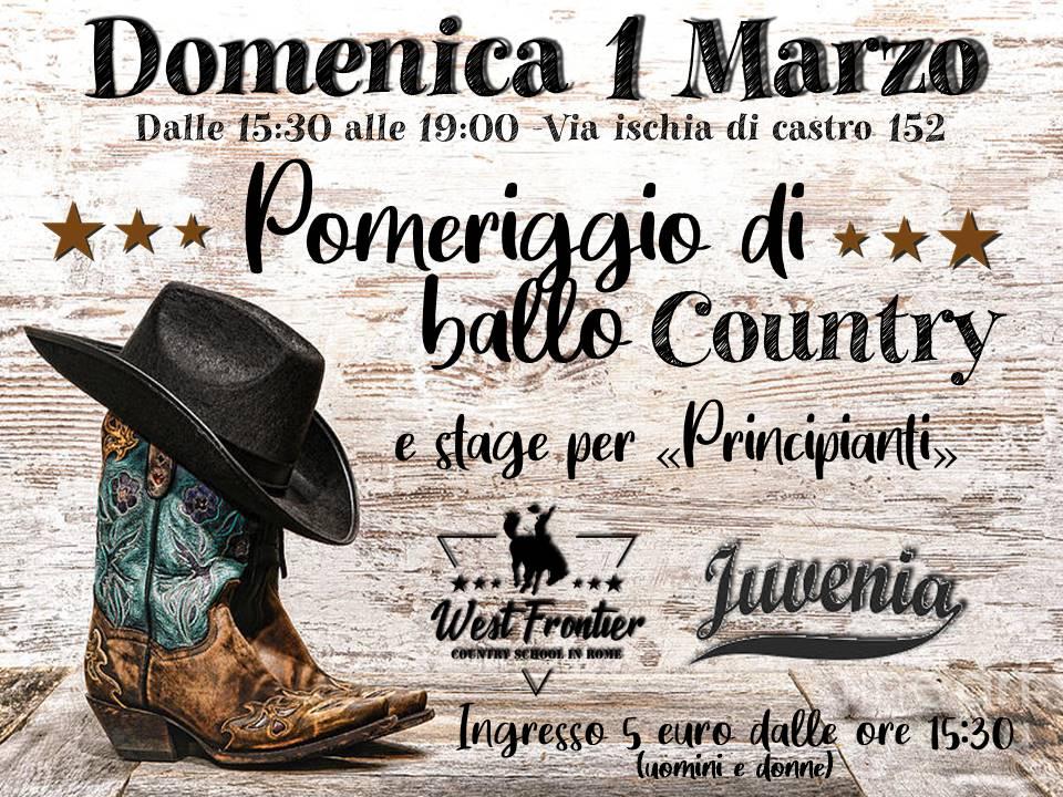 Domenica country alla Juvenia!