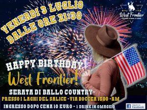 Happy Birthday West Frontier !